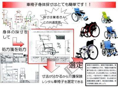 車いす設計身体採寸と 適合選定×車いすメンテナンス~付属の工具で技術を習得しよう~